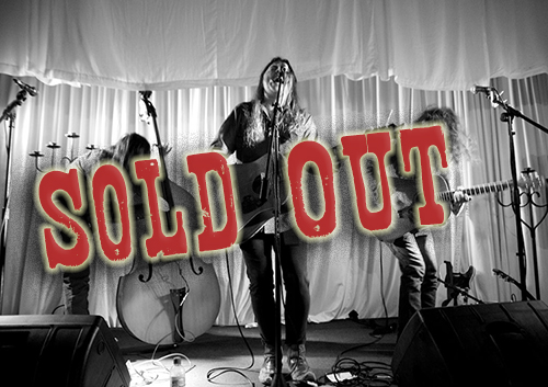 an image showing the goat roper band show is sold out
